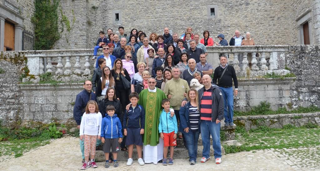Carabinieri in pellegrinaggio a Santo Stefano di Quisquina