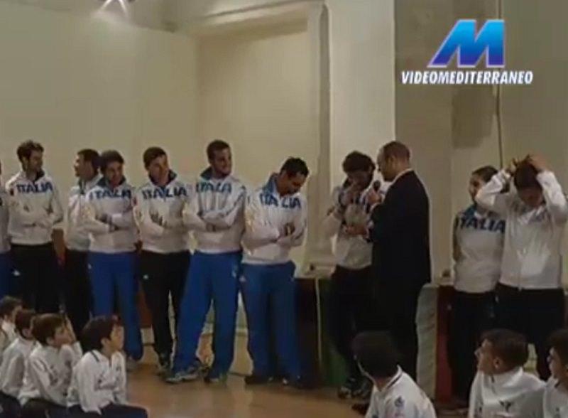I campioni della sciabola in visita a Modica