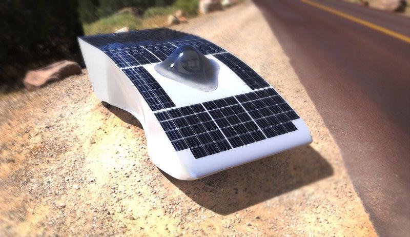Pergusa: scende in pista l'Archimede Solar Car