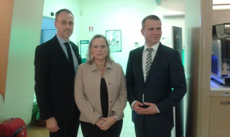 Delegazione finlandese a Catania