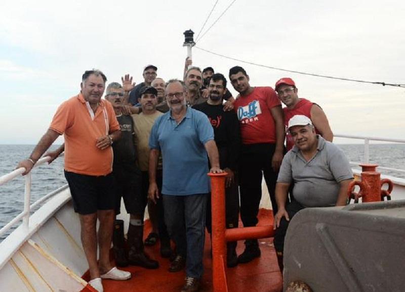 Mazara del Vallo, medici sui pescherecci