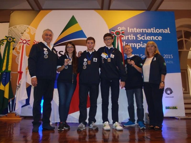 Catania, Mariastella Cascone  medaglia d'argento alle IESO brasiliane