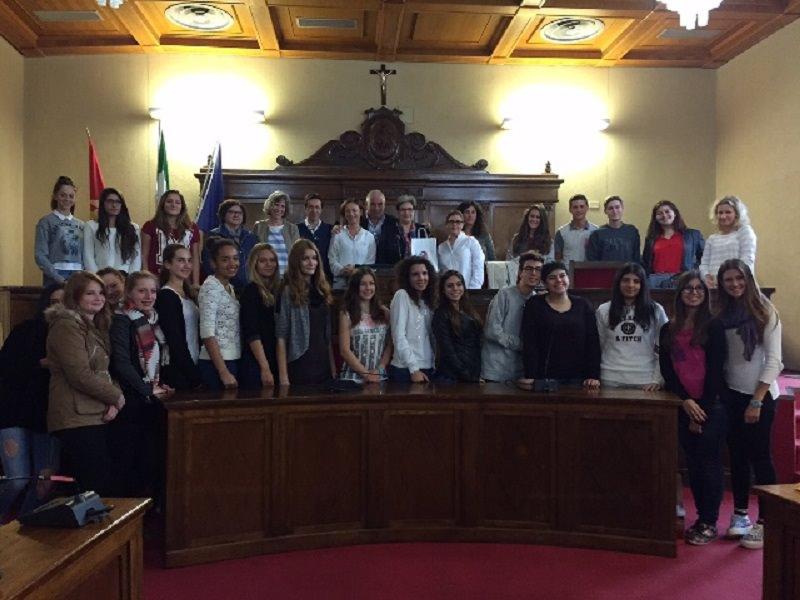 Milazzo: studenti tedeschi in visita al Comune