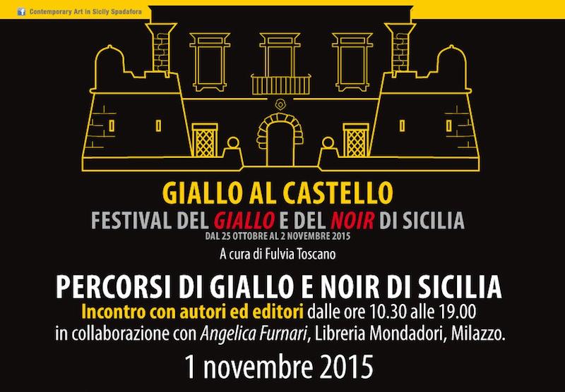 """Spadafora: il Castello saluta il """"giallo"""" di """"Contemporary Art in Sicily"""""""