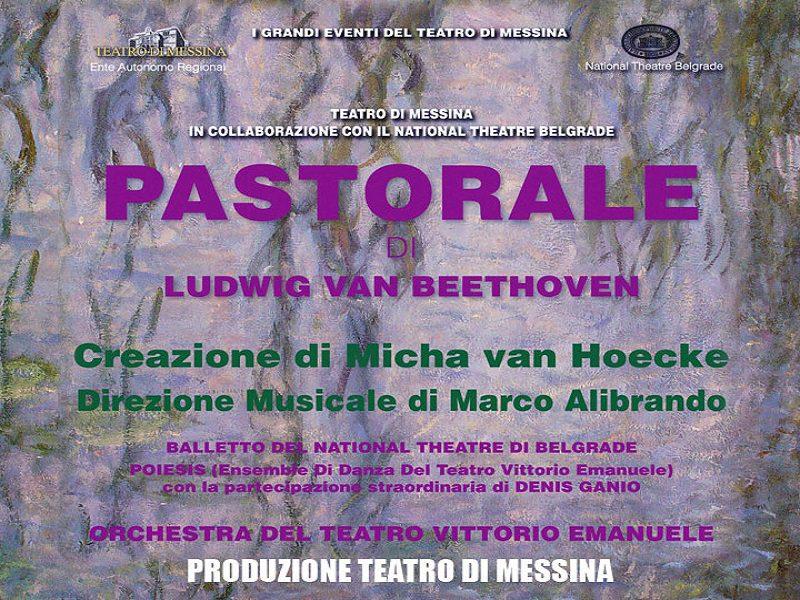 """Al teatro """"Vittorio Emanuele"""" di Messina in scena la pastorale di Beethoven"""