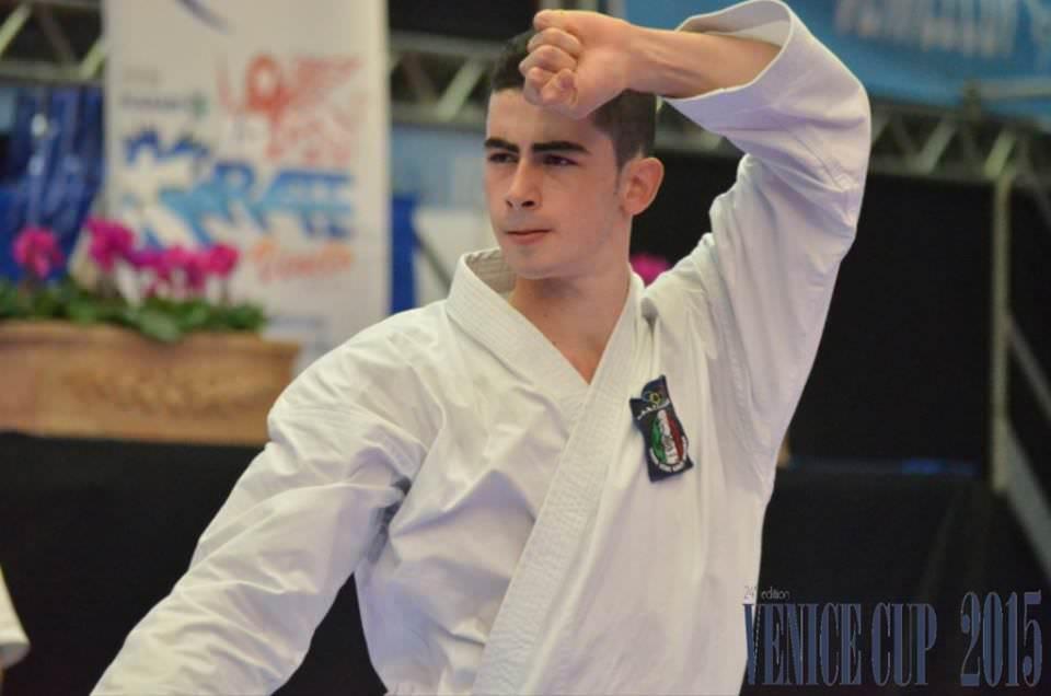 Karate: vittoriese Panagia conquista tre ori alla Venice Cup