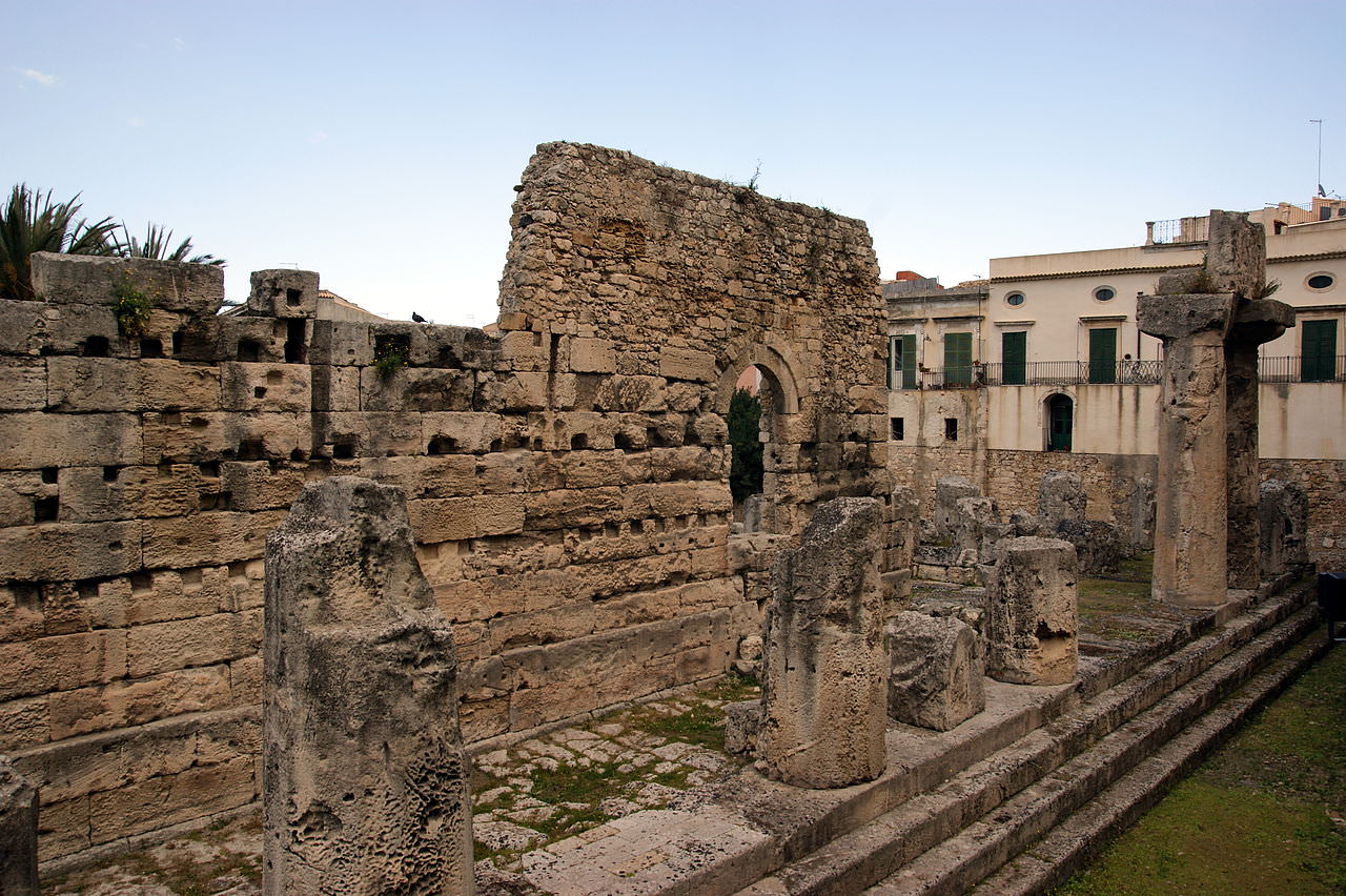 Siracusa, cambia la viabilità: niente più auto vicino al tempio di Apollo