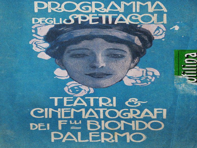 """""""Facevano teatro, cimeli e memorie dei teatri palermitani della belle epoque"""" in mostra a Palermo"""