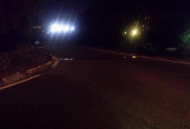 Continua a mancare l'illuminazione al Viale Tirreno