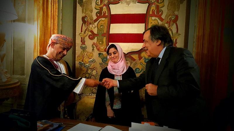 Palermo, il sindaco incontra lo sceicco dell'Oman