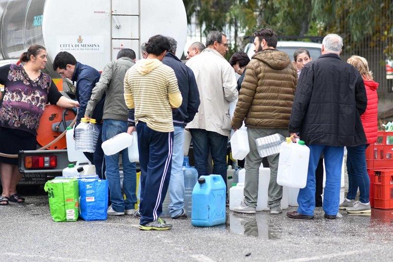 Messina senz'acqua, Codacons chiede le dimissioni di Crocetta