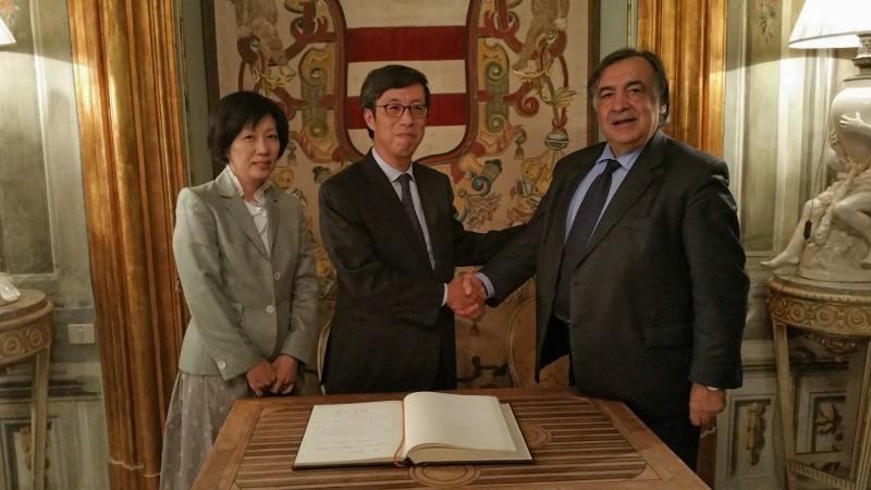 Orlando riceve l'ambasciatore del Giappone