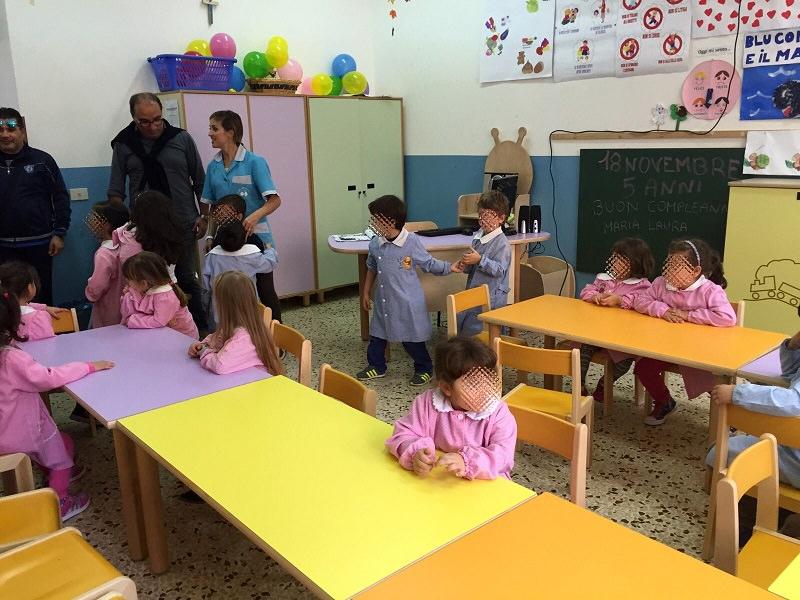Lampedusa nuovo arredo nella scuola dell 39 infanzia for Nuovo arredo sansepolcro