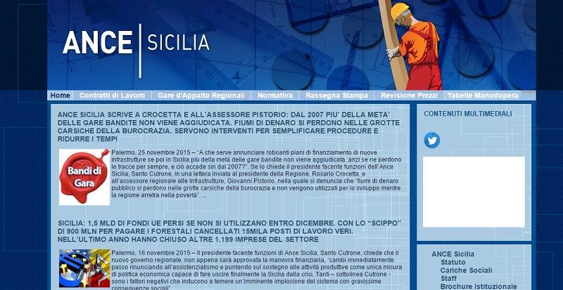 """L'Ance Sicilia scrive a Crocetta e Pistorio: """"Fiumi di denaro si perdono nelle grotte carsiche della democrazia"""""""