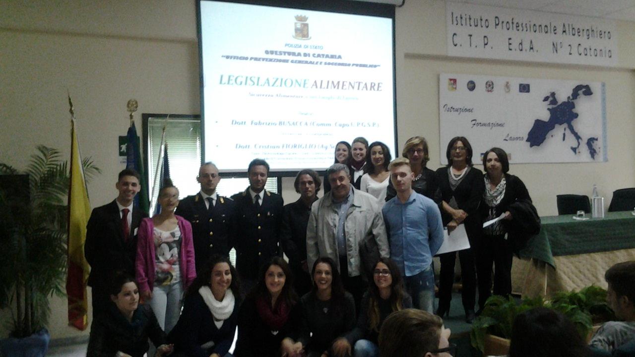 All'Alberghiero di Catania incontro sulla sicurezza alimentare