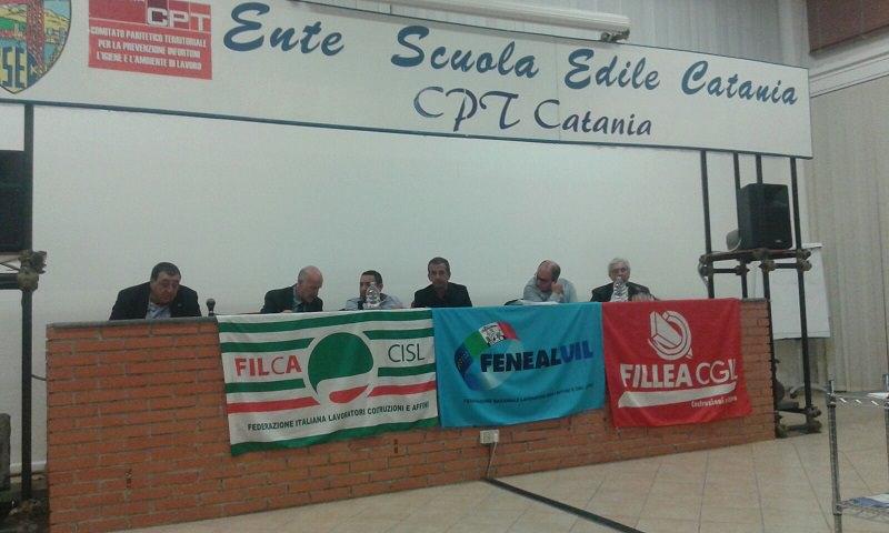 Lavoratori edili catanesi: presentato nuovo contratto integrativo