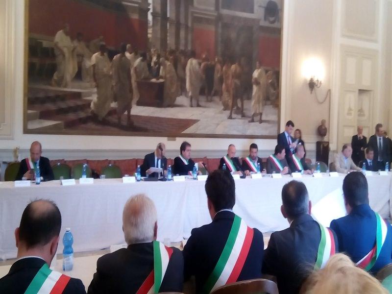 Catania, animato confronto fra sindaci e Protezione Civile
