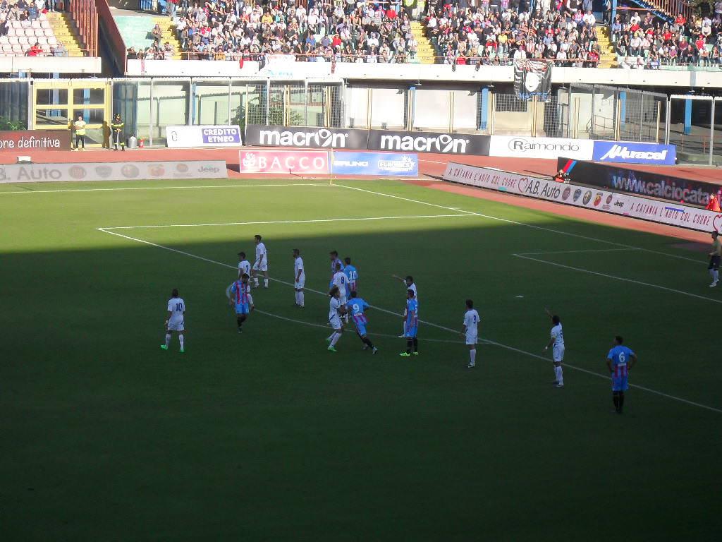 PAGELLE Catania. Musacci e Plasmati cambiano volto alla squadra