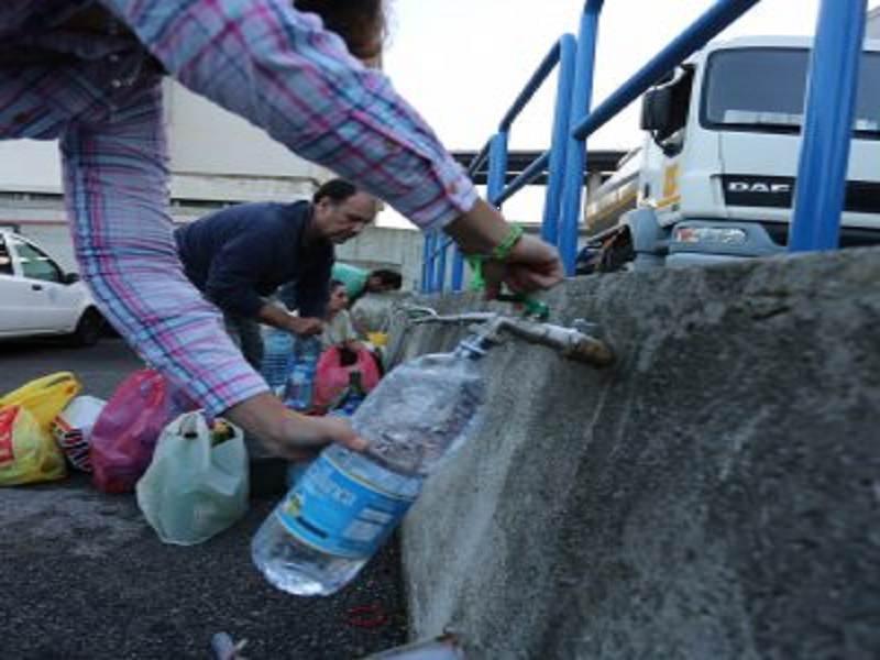 Caltanissetta, ancora difficoltà per la distribuzione idrica in città