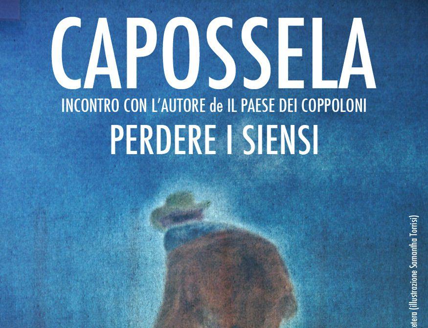 """Vinicio Capossela: al Monastero dei benedettini per """"Il paese dei coppoloni"""""""