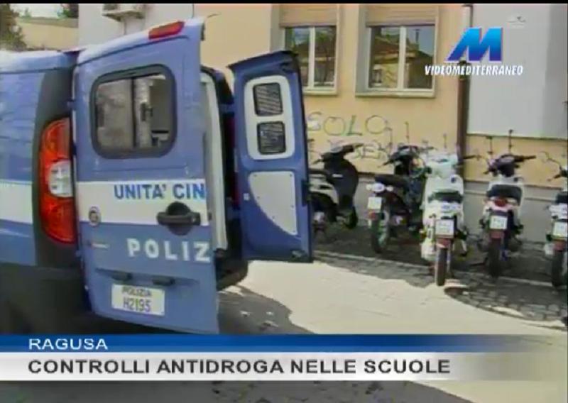 Ragusa, continuano i controlli antidroga nelle scuole