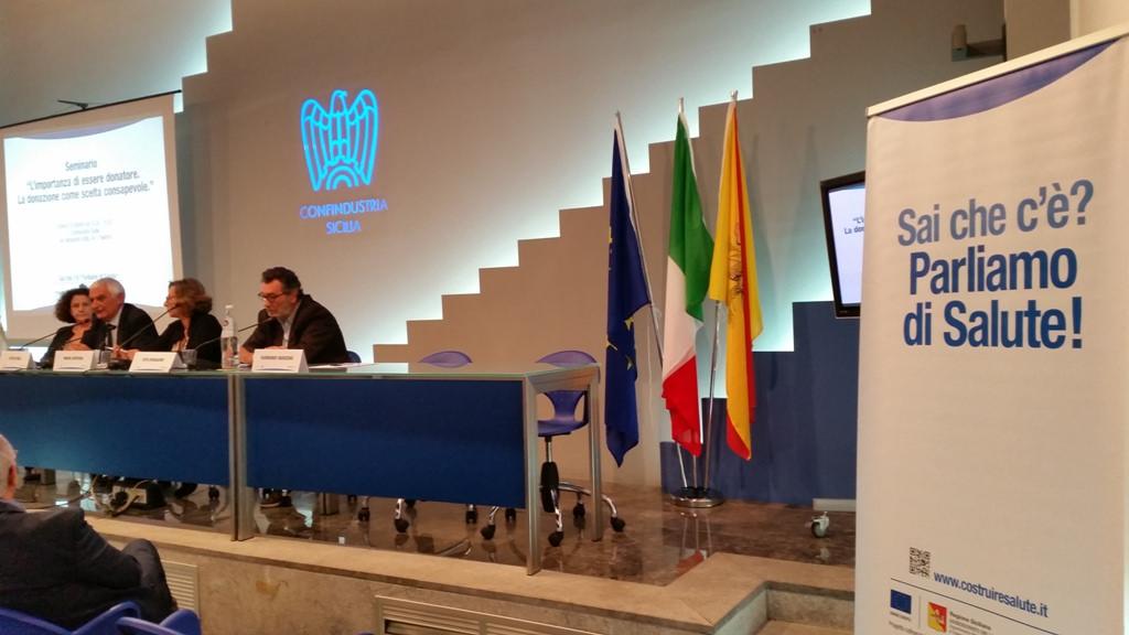 A Palermo seminario sull'importanza della donazione