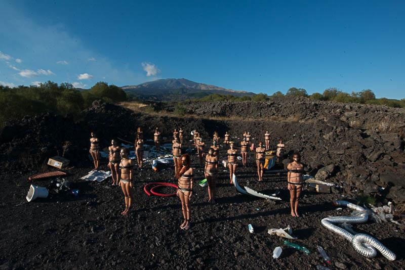 Madre Snatura in mostra al Parco dell'Etna