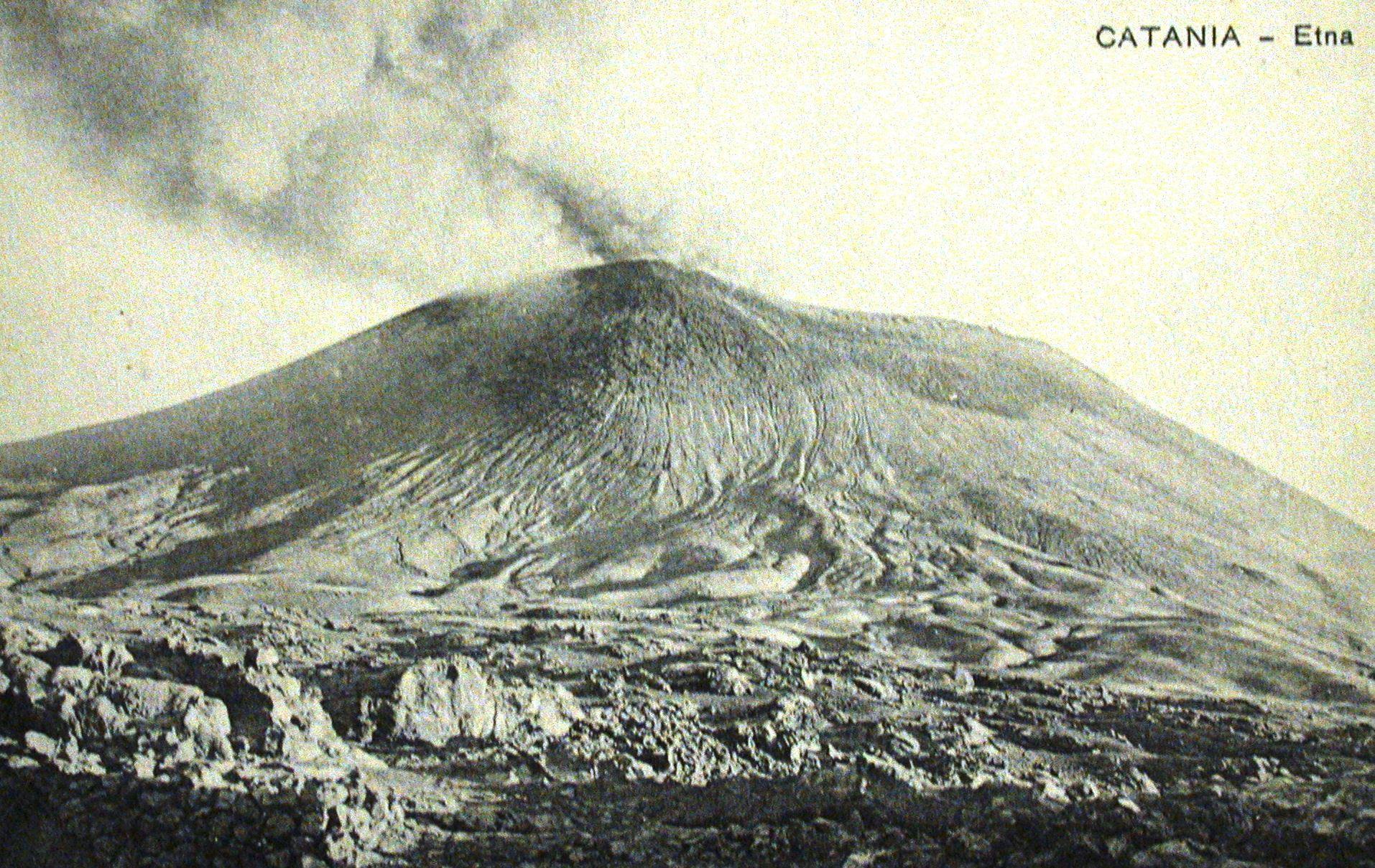 L'Etna e le sue eruzioni