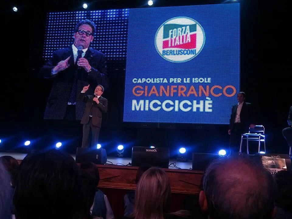 Miccichè si sbilancia sui candidati: alla Regione Pogliese e a Palermo Scoma