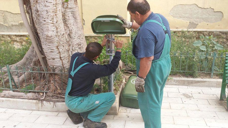 Ad Agrigento 150 nuovi cestini per i rifiuti