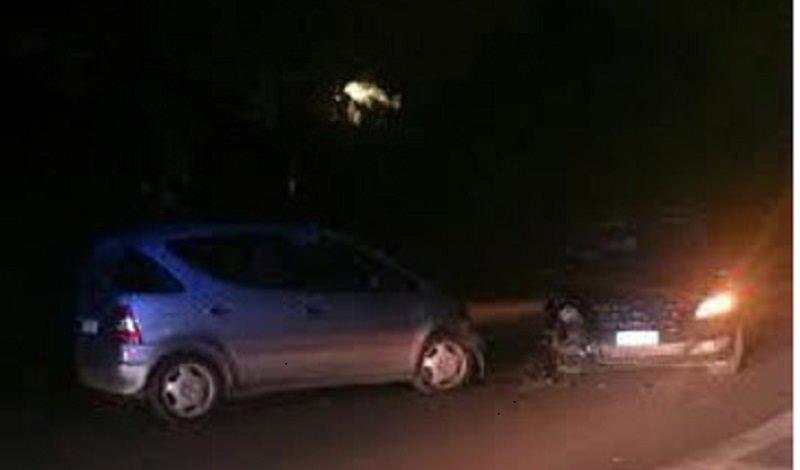 Incidente stradale nella notte a Palermo: 4 feriti