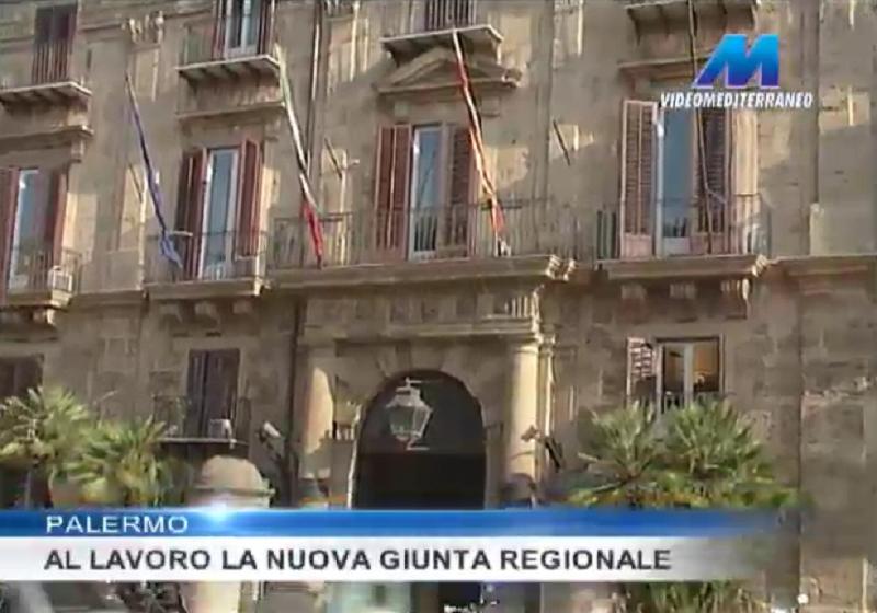 A Palermo la prima riunione della nuova Giunta