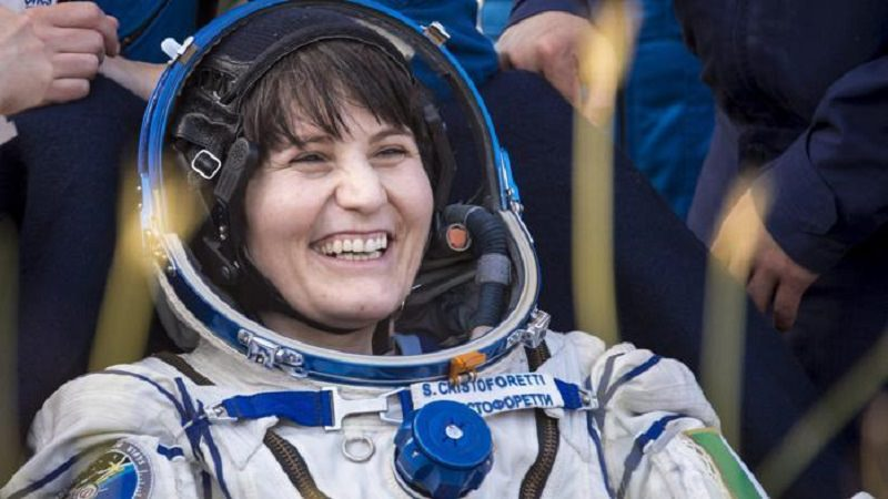 L'astronauta Samantha Cristoforetti giovedì 17 a Lampedusa