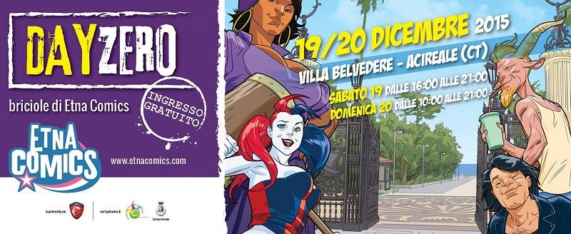 Etna Comics Day Zero fa tappa ad Acireale: sarà assaggio di #ECSEI