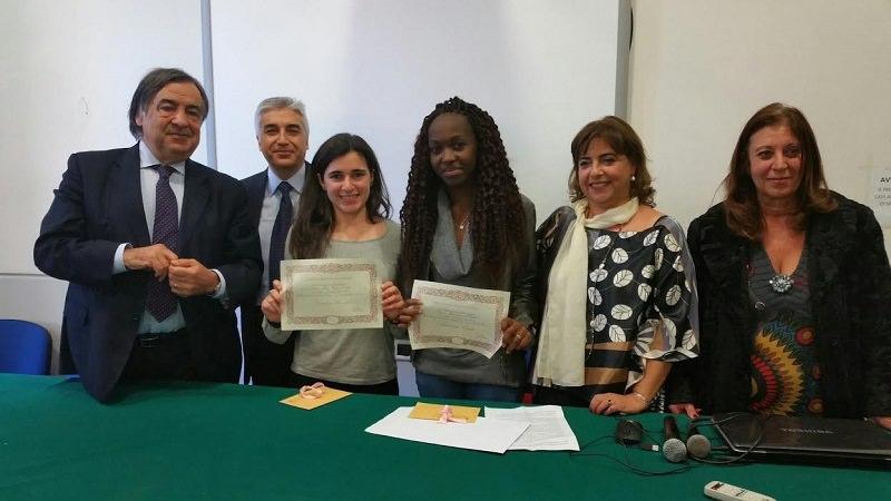 Palermo, consegnate due borse di studio in memoria di Costanzo Orobello