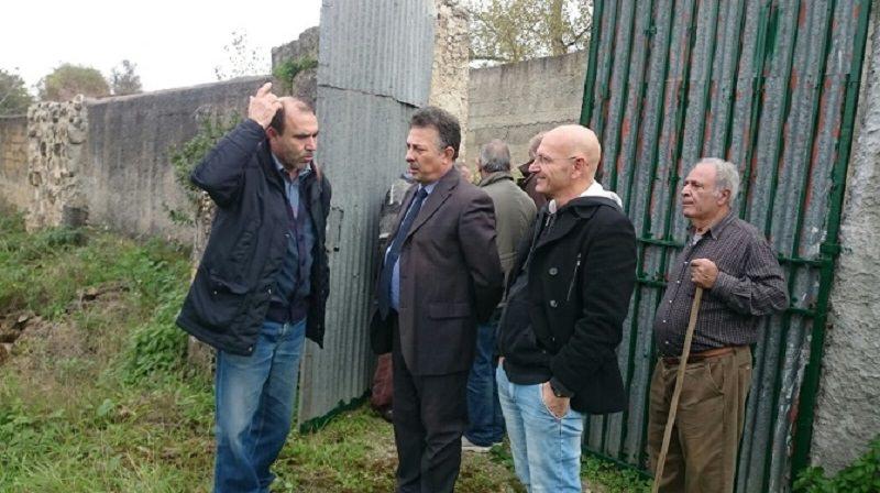 Palermo, sopralluogo per nuova fognatura a Borgo Molara
