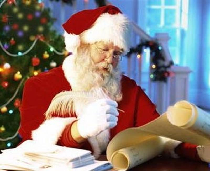 …la risposta di Babbo Natale