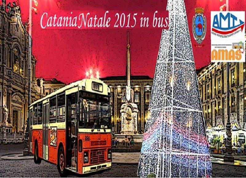 """A Catania non solo addobbi in centro, arriva anche il """"Natale in bus"""""""