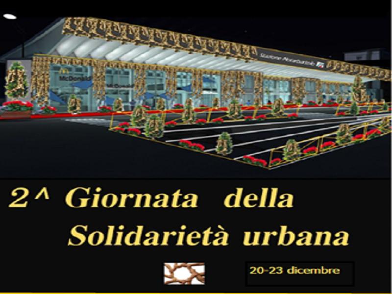 """Parte domani a Palermo la seconda edizione della """"Giornata della solidarietà urbana"""""""