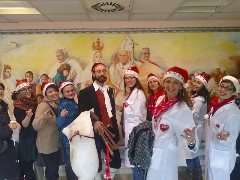 Catania, grande festa di Natale all'ospedale Garibaldi