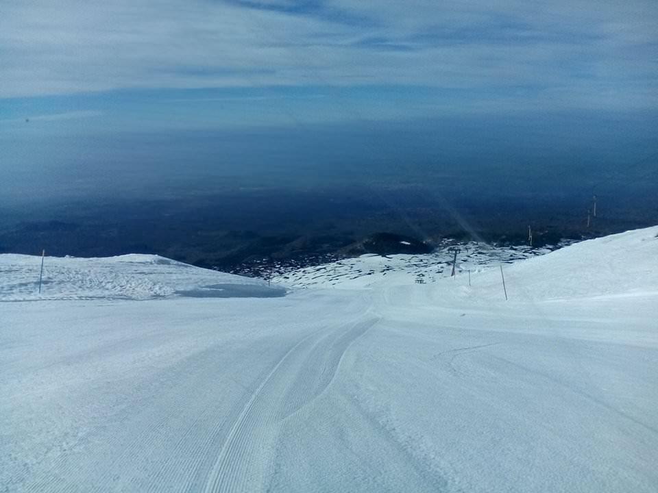 Si apre la stagione sciistica sull'Etna. Dal 20 impianti in funzione