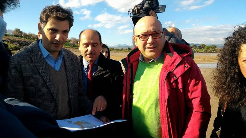 """Paternò, l'assessore Anthony Barbagallo alle """"Salinelle"""""""