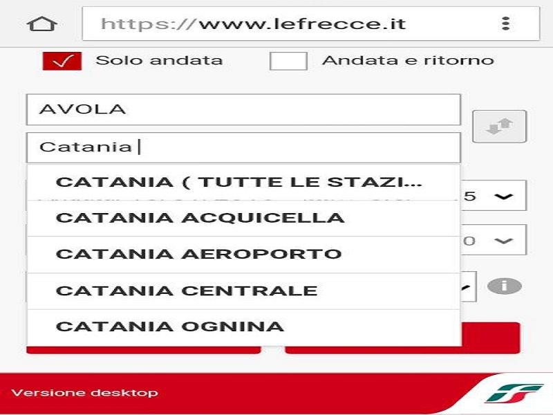 Trenitalia e l'immaginaria fermata all'aeroporto Fontanarossa di Catania