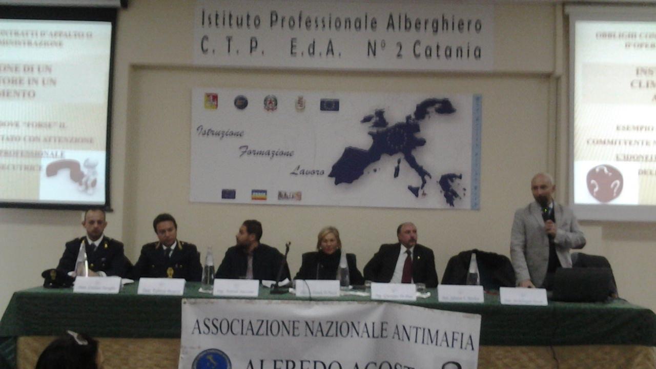 """All'Alberghiero di Catania convegno sulla """"Scuola sicura"""""""