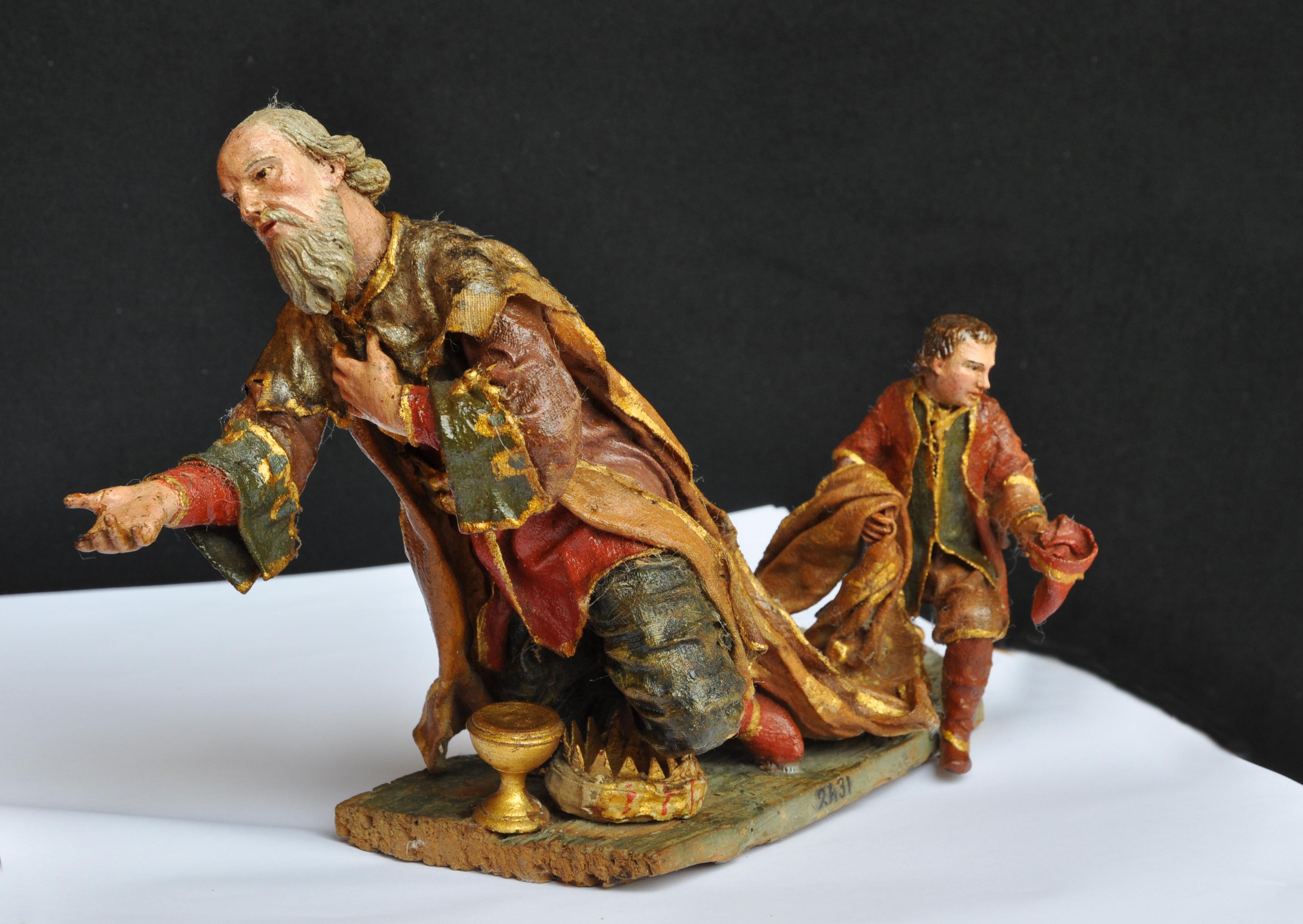 """Museo """"Arte e fede"""" di Custonaci ospita Re Magi (collezione Presepi Pepoli)"""