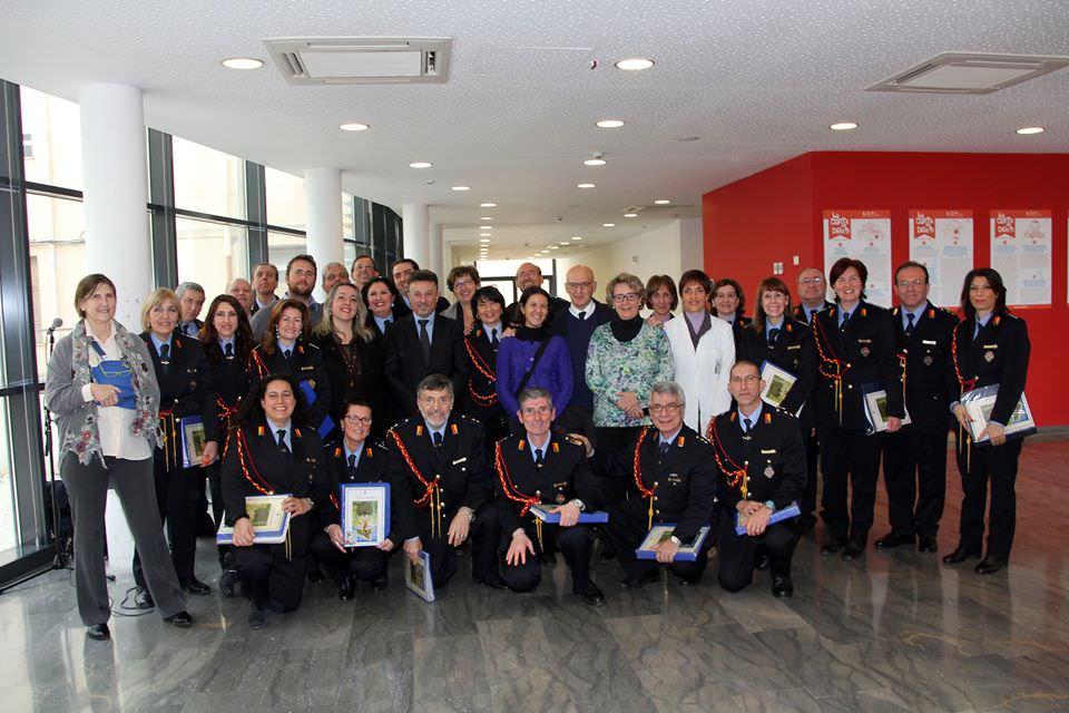 Palermo, polizia municipale regala un sorriso ai bambini malati