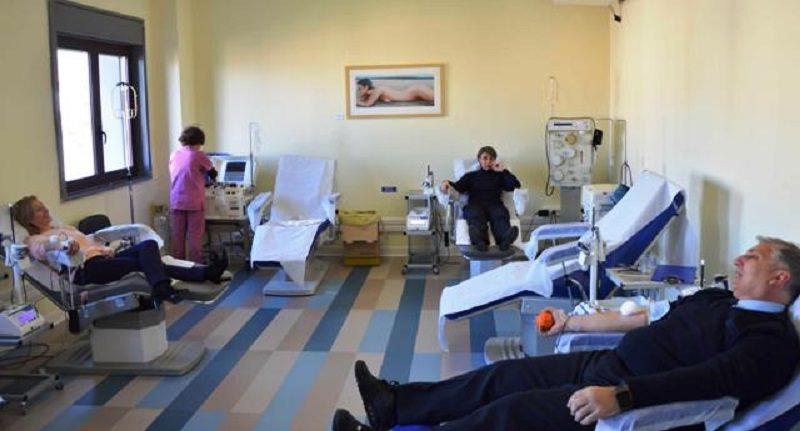Gesto di grande esempio dei vigili di Modica: l'intero corpo dona il sangue