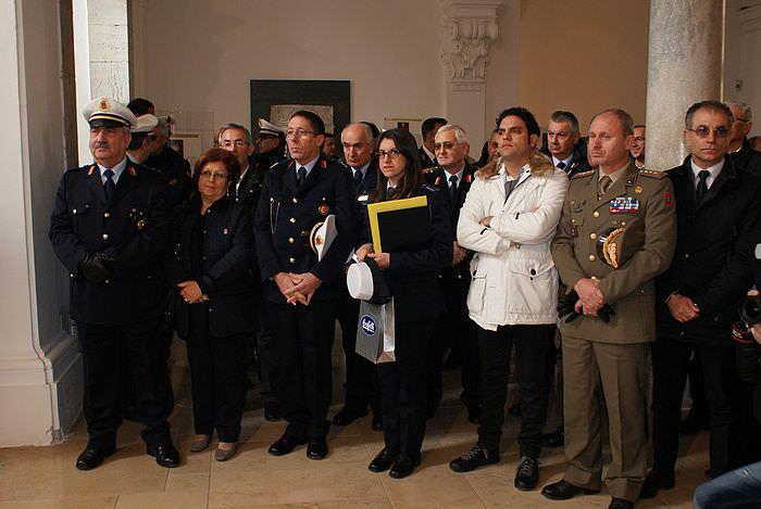 Trapani festeggia San Sebastiano e la polizia municipale