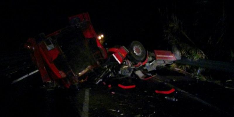 """Incidente stradale vicino alle """"Porte di Catania"""": ferito il conducente di un'autogru"""