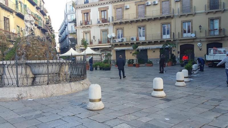 Palermo, piazza Rivoluzione cambia look